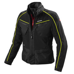 Spidi Intercruiser H2Out WP Textile Jacket - Black / Yellow