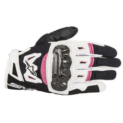 Alpinestars Stella Ladies SMX-2 Air Carbon Gloves - Black / White / Pink