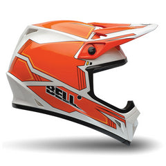 Bell MX-9 Off Road Enduro MotoCross Helmet (Blockade Orange) - Bell Helmets -  - MSG BIKE GEAR