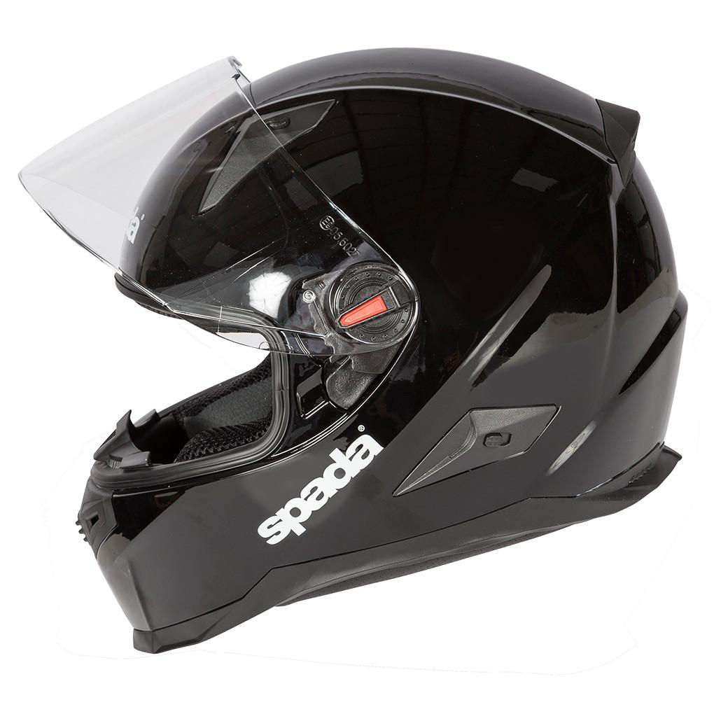 Spada RP900 Motorcycle Motorbike Full Face Quick Release Helmet - Matt Black - Spada -  - MSG BIKE GEAR - 1