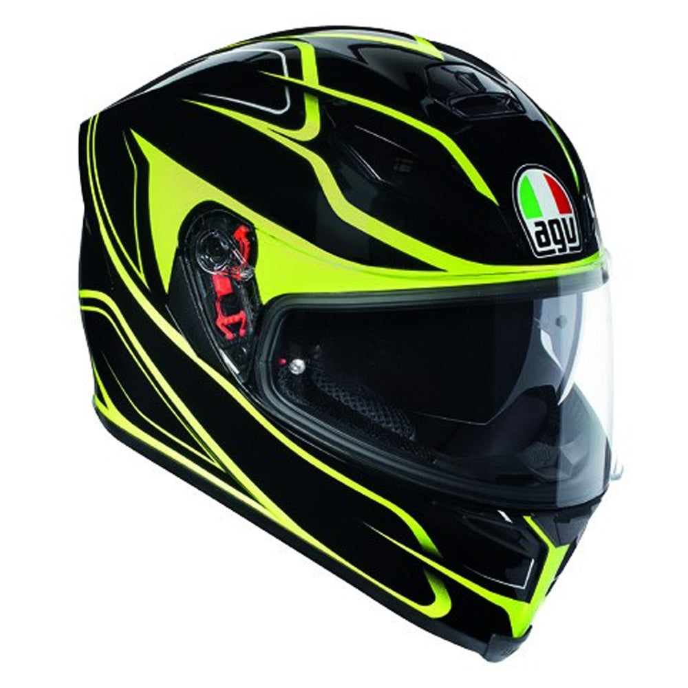 AGV K5-S DVS Full Face Helmet - Magnitude Black / Yellow
