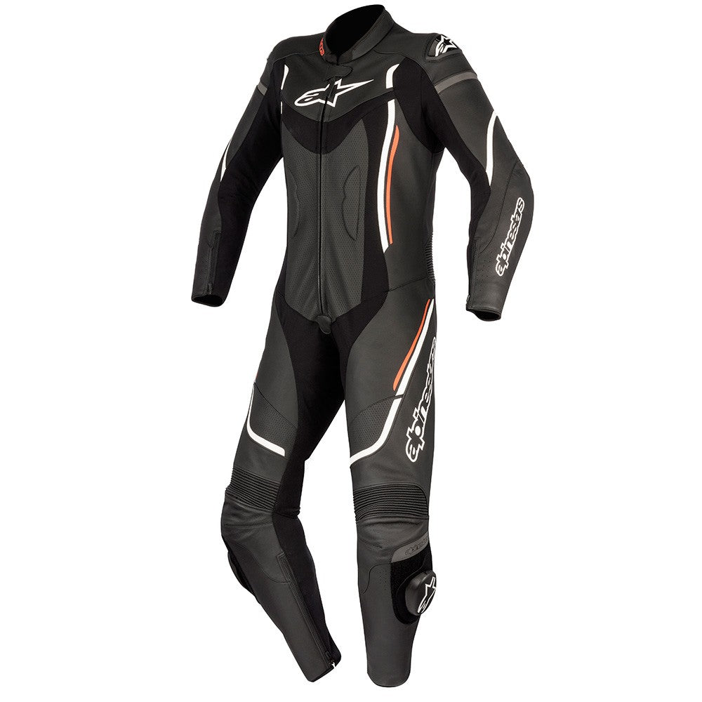 Alpinestars Stella Motegi V2 One Piece Ladies Leather Suit - Black / White / Red