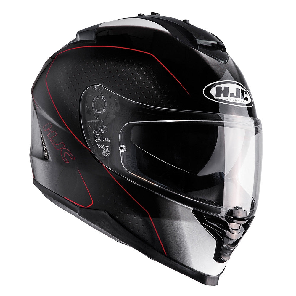HJC IS-17 Full Face Helmet - Arcus Red