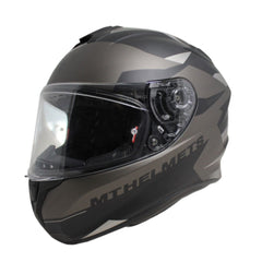 MT Targo Enjoy Full Face Helmets - Matt Black/Grey