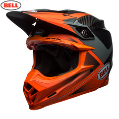 Bell MX 2018 Moto-9 Carbon Flex Helmet - Hound Orange / Charcoal