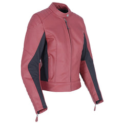 Oxford Beckley Ladies Leather  Jacket - Russet