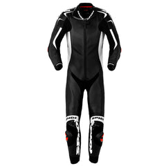 Spidi Replica Piloti Wind Leather Suit Black/White