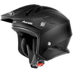Airoh TRR S Open Face MX Helmet - Matt Black