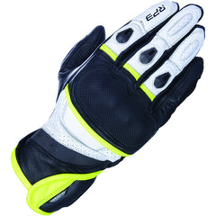 Oxford RP-3 2.0 Leather Gloves - Black, White, Fluo