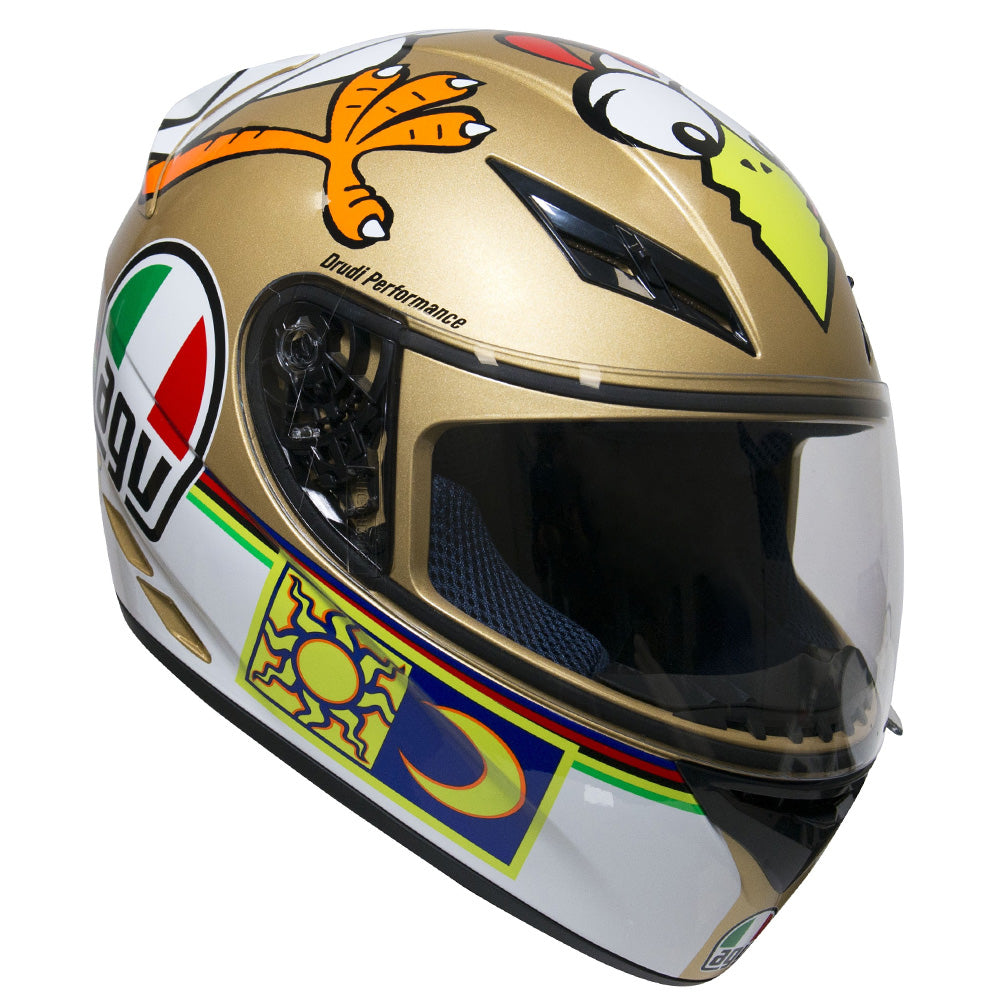 AGV K3 Full Face VR46 Rossi Helmet - The Chicken Replica