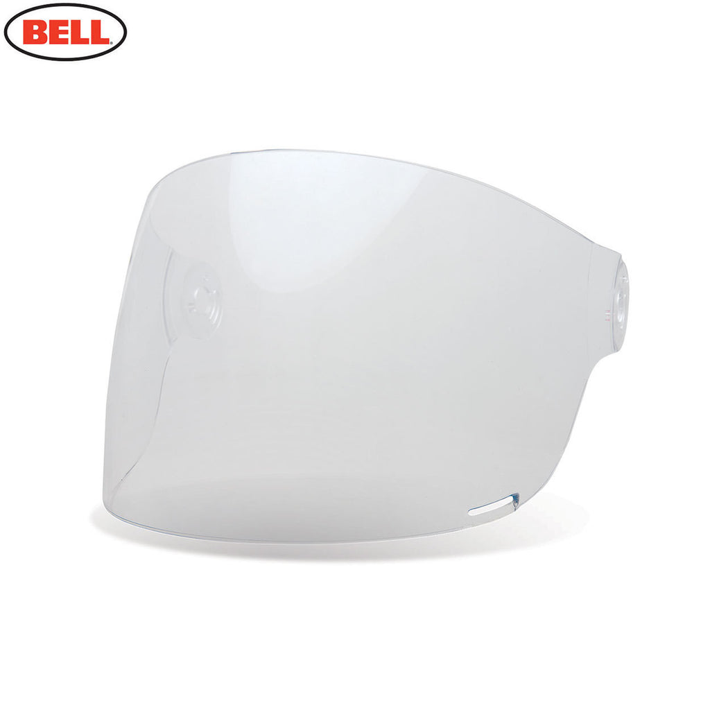 Bell Bullitt Helmet Flat Shield / Visor (Brown Tabs) Clear - Bell -  - MSG BIKE GEAR