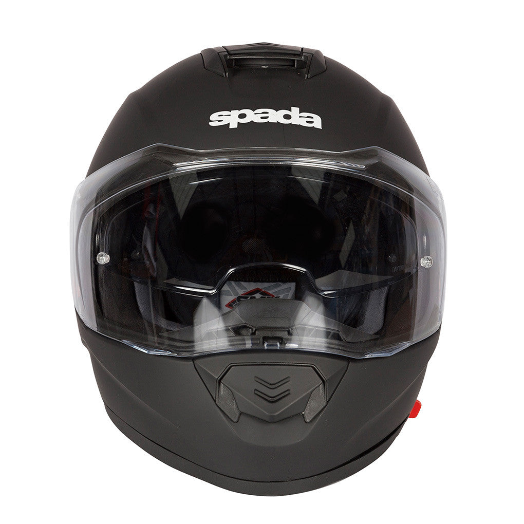Spada RP-One Full Face Motorcycle Motorbike Plain Helmet Black - Spada -  - MSG BIKE GEAR - 1