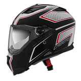 Caberg Stunt Full Face Touring Motorcycle Helmet - Blade White/Black/Red  S - Caberg -  - MSG BIKE GEAR - 3