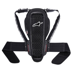 Alpinestars Nucleon KR-1 Motorcycle Back Protector Road Armour-Black.White - Alpinestars -  - MSG BIKE GEAR