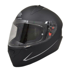 MT Stinger Solid Full Face Helmets - Matt Black