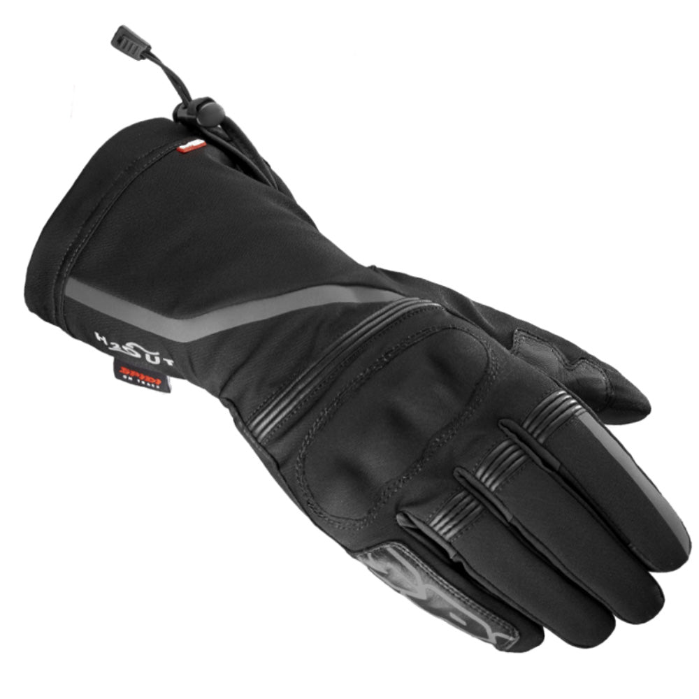 Spidi NK5 H2Out Outdry WP Textile Gloves - Black