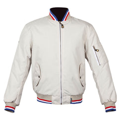 Spada Air Force One Waterproof Textile Jacket - Royal Ivory