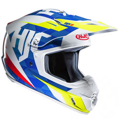 HJC CS-MX II Dakota MX Helmet - Blue/White/Fluo