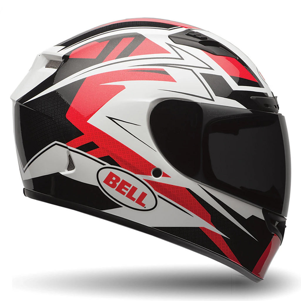 Bell Street Qualifier DLX Adult Motorcycle Helmet (Clutch Red) - Bell Helmets -  - MSG BIKE GEAR - 1
