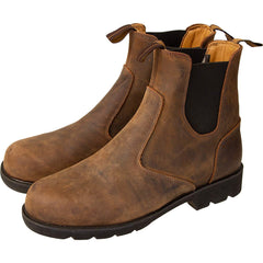 Merlin Stockwell Leather Boots - Brown
