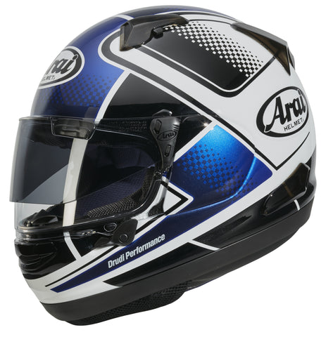 Arai QV Pro Sports Full Face Helmet -  Box Blue
