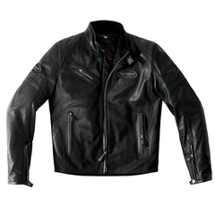 Spidi Ace Classic Leather Jacket - Black
