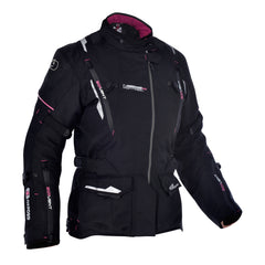 Oxford Montreal Ladies Waterproof Textile Jacket - Tech Pink