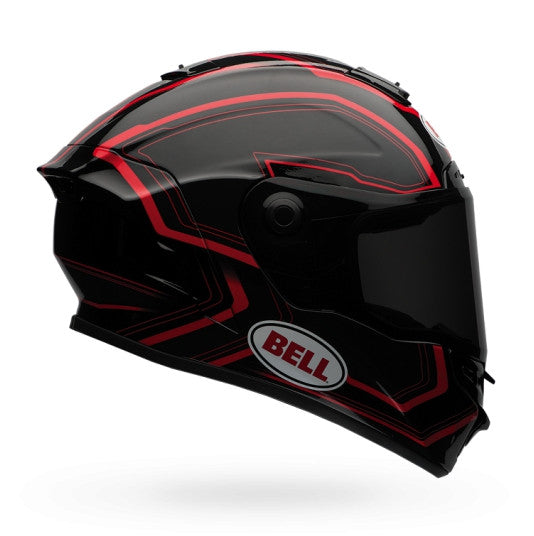 Bell Street 2016 Star Adult Full Face Helmet (Pace Black/Red) - Bell -  - MSG BIKE GEAR - 1