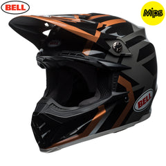 Bell MX 2018 Moto-9 MIPS MX Helmet - District Copper / Black