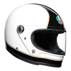 AGV X3000 Retro Full Face Helmet - Black / White