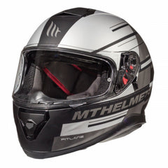 MT Thunder 3 SV Pitlane Full Face Helmets - Matt Black/Grey