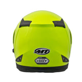 MT Flux Flip Front Helmets - Solid Fluo Yellow