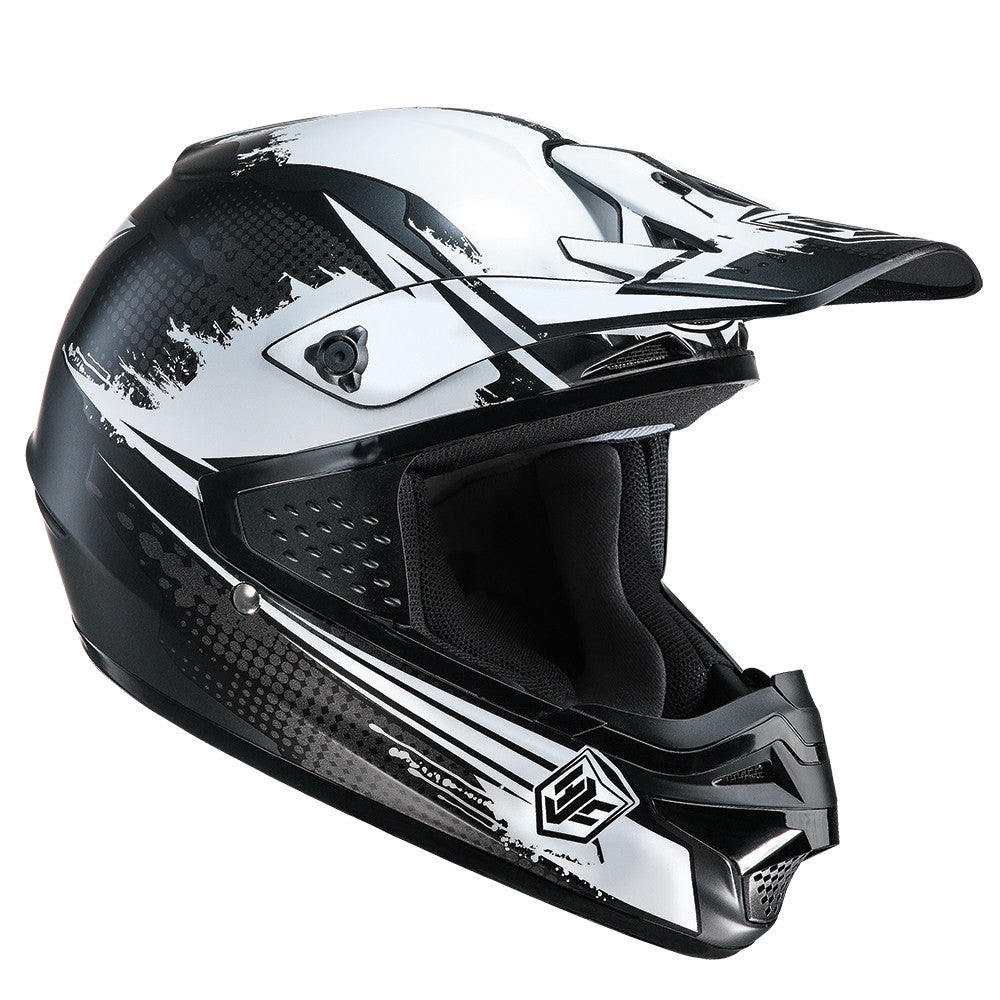HJC CS-MX Enduro Off Road Motocross MX Helmet Zealot MC5SF Black - HJC -  - MSG BIKE GEAR - 1