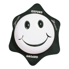 Oxford Smiler Track Racing Road Motorbike Motorcycle Knee Sliders Armour - White - Oxford -  - MSG BIKE GEAR