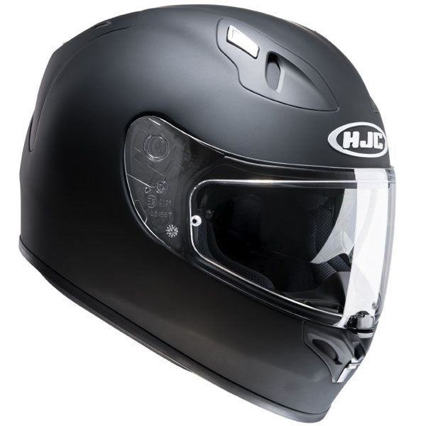 HJC FG-ST Inner Sun Visor Full Face Motorcycle Helmet - Plain Matt Black - HJC -  - MSG BIKE GEAR - 1