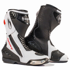 Richa Drift Waterproof Touring Sports Race Motorcycle Boots Black/white - Richa -  - MSG BIKE GEAR