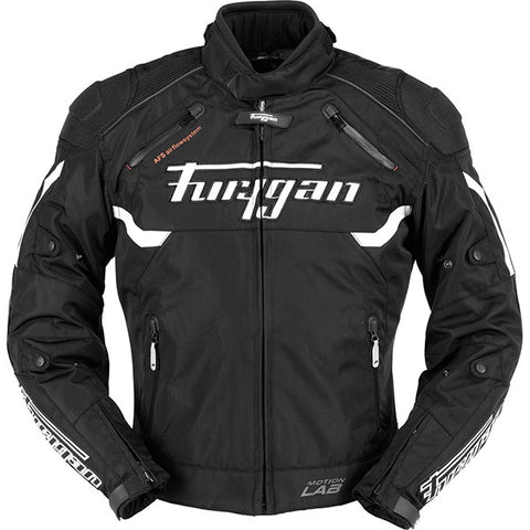 Furygan Titan Textile Motorcycle Jacket Black/White - Furygan -  - MSG BIKE GEAR