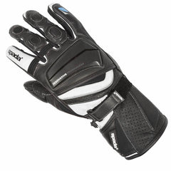 Spada Latour Vented Summer Leather Motorcycle Motorbike Gloves - Black - Spada -  - MSG BIKE GEAR - 1