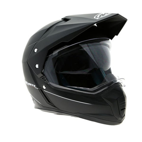 MT Synchrony DS SV Full Face Helmets - Matt Black