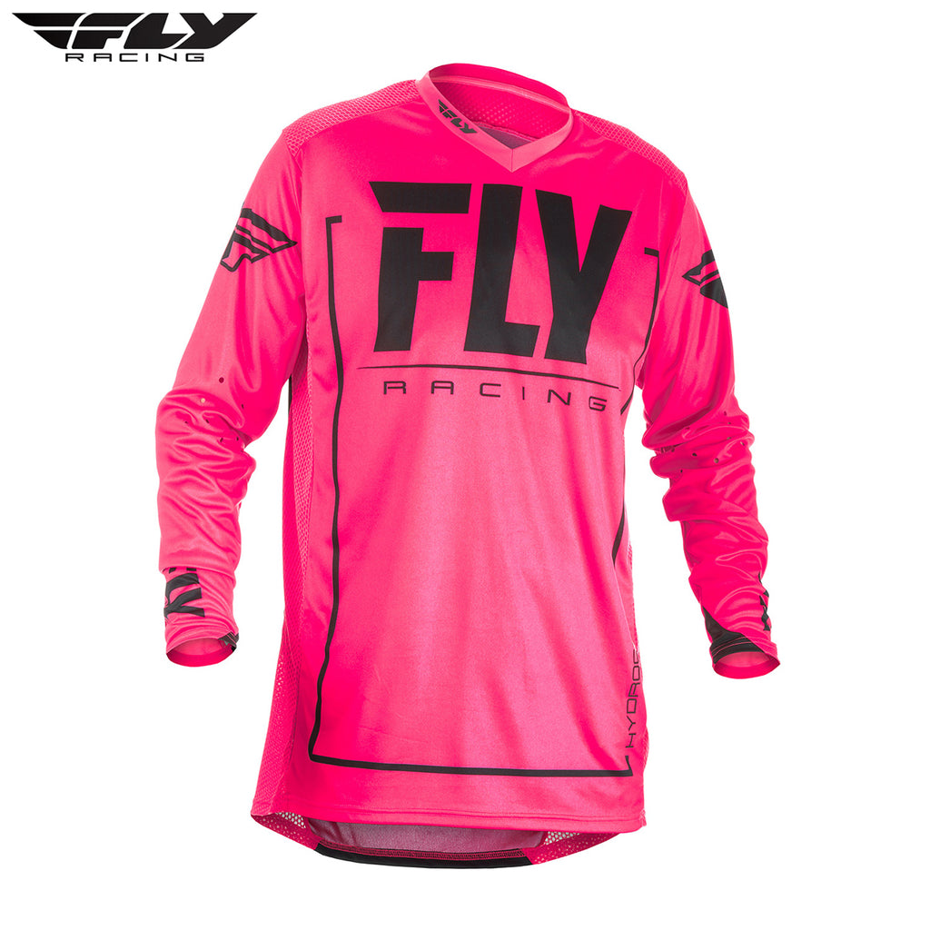 Fly Racing 2018 Lite Hydrogen MX Jersey - Pink / Black