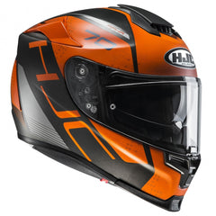 HJC RPHA 70 Vias Full Face Helmet - Orange MC7SF
