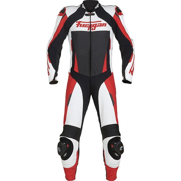 Furygan Full Apex 1 Piece Leather Race Track Motorcycle Suit - Red - Furygan -  - MSG BIKE GEAR - 1