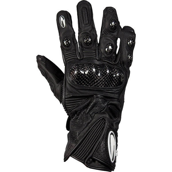 Richa WSB Leather Armoured Motorbike Motorcycle Gloves Black - Richa -  - MSG BIKE GEAR