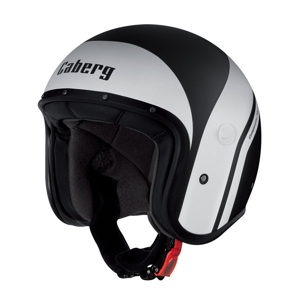 Caberg Freeride Vintage JET Scooter Motorcycle Helmet Mistral Black White - Caberg -  - MSG BIKE GEAR - 1