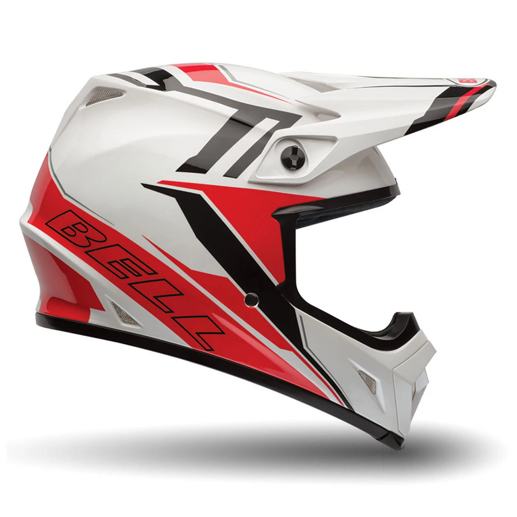 Bell MX-9 Off Road Enduro MotoCross Helmet (Baracade Red) - Bell Helmets -  - MSG BIKE GEAR
