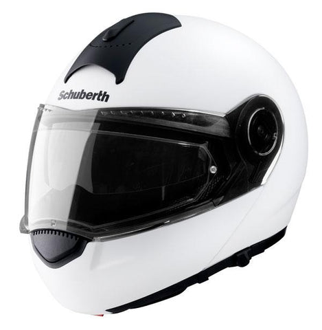 Schuberth C3 Basic Flip Front System Motorcycle Helmet White - SCHUBERTH -  - MSG BIKE GEAR