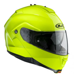 HJC IS-MAX 2/II Flip Front Up Sun Visor Motorbike Motorcycle Helmet - Yellow - HJC -  - MSG BIKE GEAR - 1