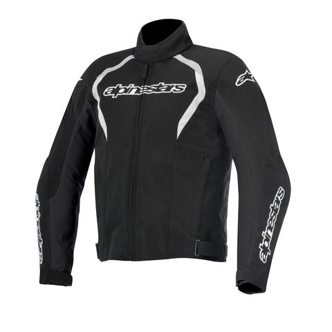 Alpinestars Fastback Waterproof Motorbike Motorcycle Jacket - Black/White - Alpinestars -  - MSG BIKE GEAR - 1