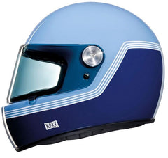 Nexx XG100 R Retro Full Face Helmet - Motordrome Blue