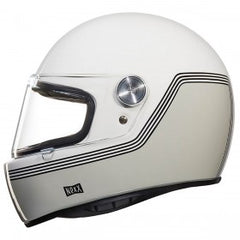 Nexx XG100 R Retro Full Face Helmet - Motordrome White